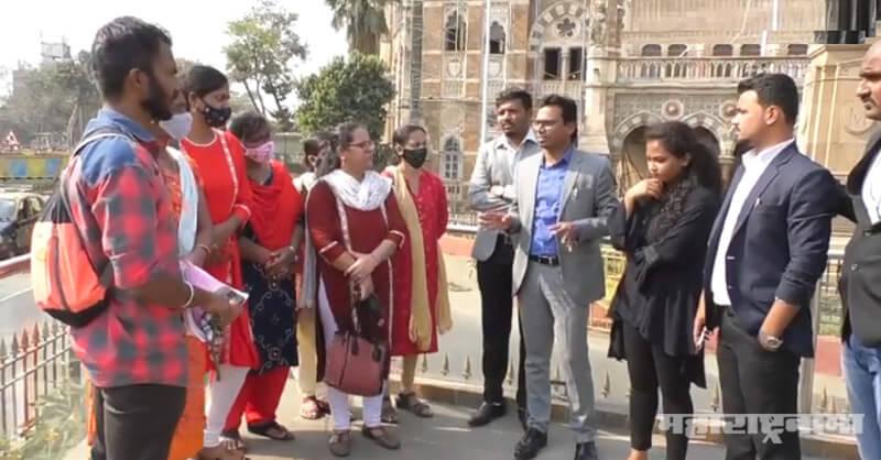Denied a job, BMC, Marathi language Education