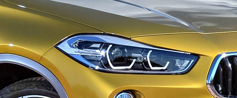 bmw x2-headlight