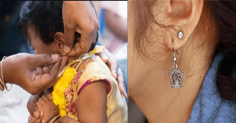 Care of newly pierced ears