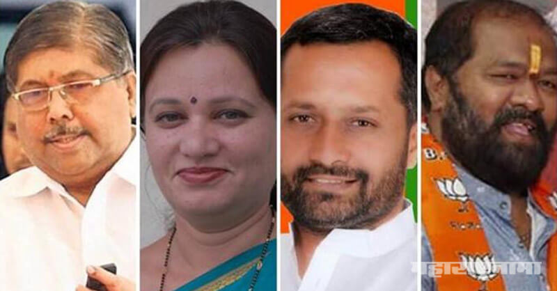 Kasaba constituency, BJP President and Minister Chandrakant Patil, Minister Chandrakant Patil, Maharashtra Assembly Election 2019, MNS Rupali Patil, MNS Rupali Patil Thombare