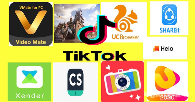 Government of India, Bans 59 Chinese Apps, Tiktok, Shareit, UC Browser