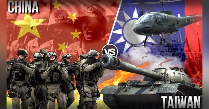 Chinese Army General, Warn Taiwan