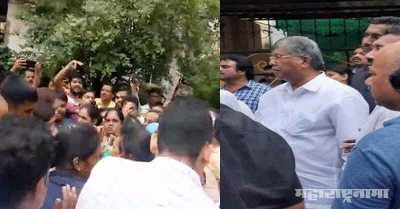 Minister chandrakant patil, BJP Maharashtra, Pune Rain, Pune Heavy Rain