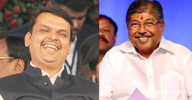 Chief Minister Devendra Fadanvis, CM Devendra Fadanvis, minister Chandrakant Patil, BJP Maharashtra, BJP Mumbai, Maharashtra Assembly Election 2019
