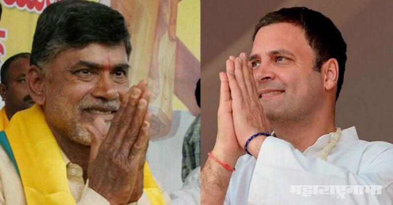 Congress, TDP, Rahul Gandhi, Chandrababu Naidu