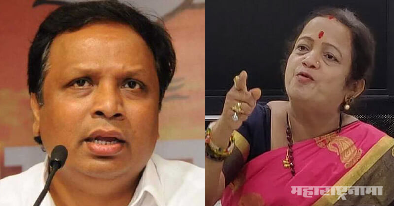 MLA Ashish Shelar, Kangana Ranaut, BMC Office, Marathi News ABP Maza