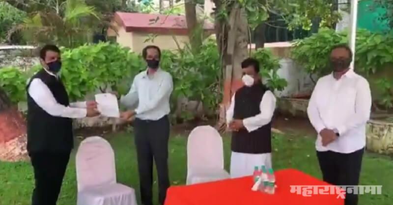 CM Uddhav Thackeray, Devendra Fadnavis, Nature Cyclone