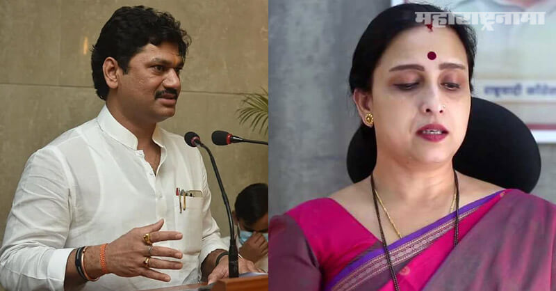 BJP leader Chitra Wagh, NCP, minister Dhananjay Munde