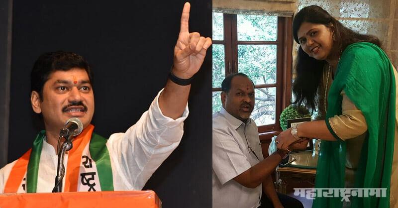 Maharashtra Vidhansabha Election 2019, NCP Leader Dhananjay Munde, Pankaja Munde, Mahadev jankar