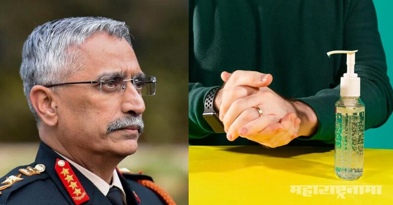 Corona Crisis, Covid 19, Indian Army, alcohol-based sanitizes
