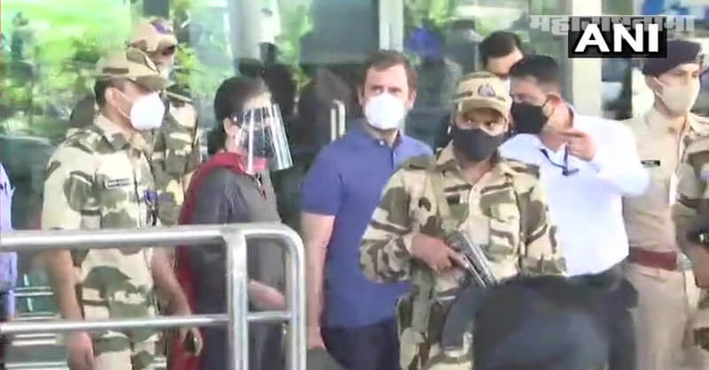 Doctors advise, Sonia Gandhi, Out from Delhi, Pollution Issue