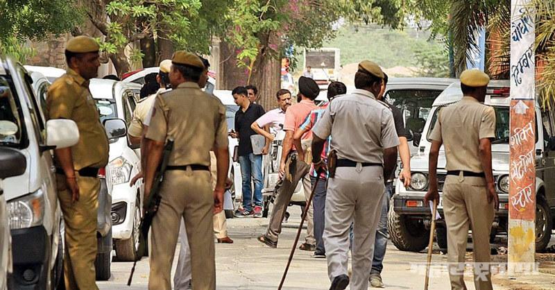 Uttar Pradesh, Kanpur, 8 policemen martyred