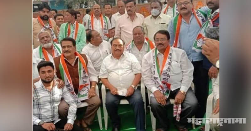 BJP corporators, join NCP party, Eknath Khadse