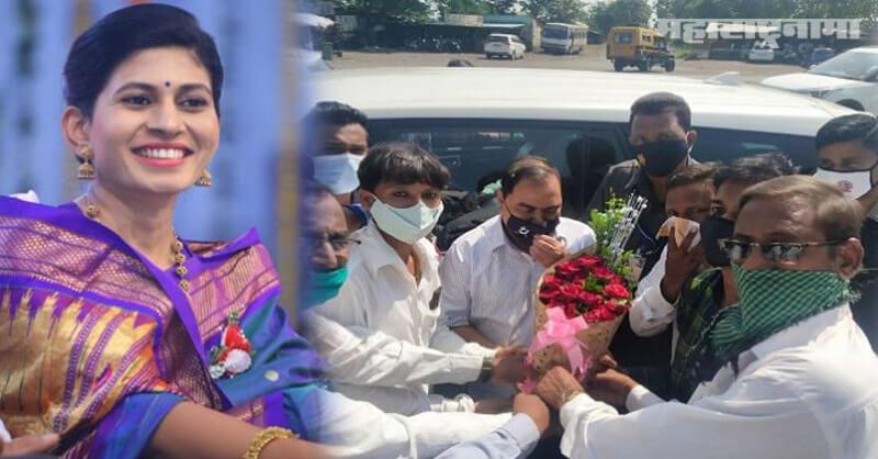 Eknath Khadse, MP Raksha Khadse, BJP Core committee meeting