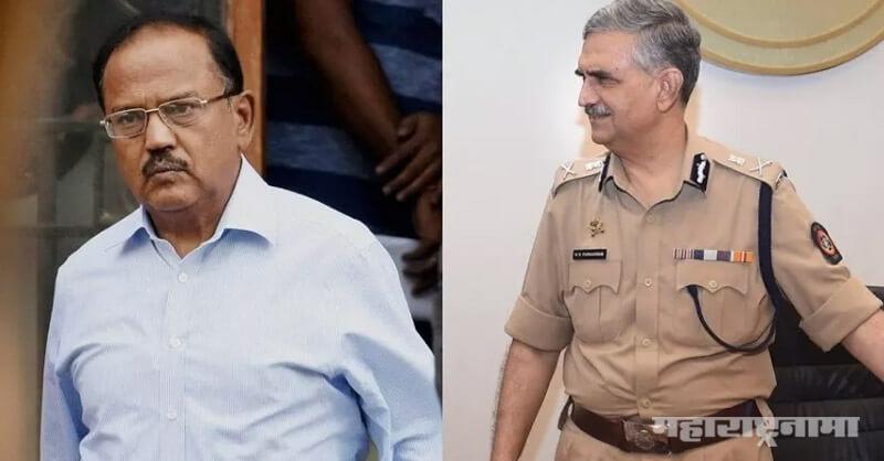 Mumbai Police datta padsalgikar, NSA, NSA Deputy Advisor