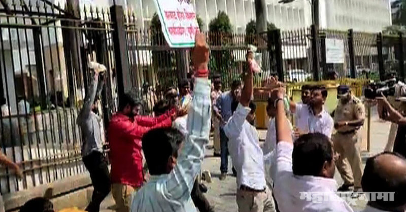 Former MP Raju Shetty, Mumbai Police, Mantralay, Farmers Protest