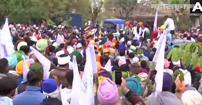 Farmers protest, Delhi Haryana border, New Agriculture Bills