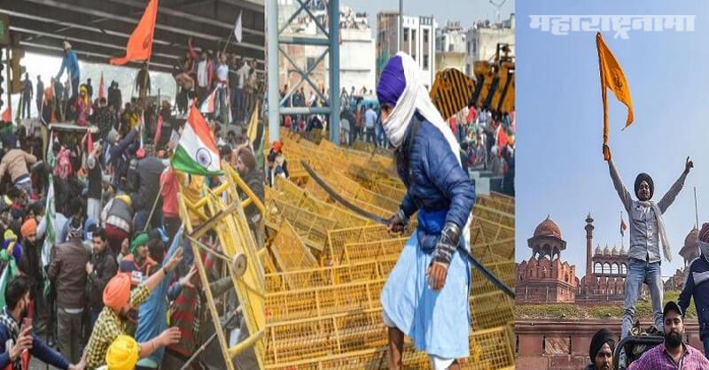 Tractor rally, Farmers in Delhi, Republic Day, Violent turn