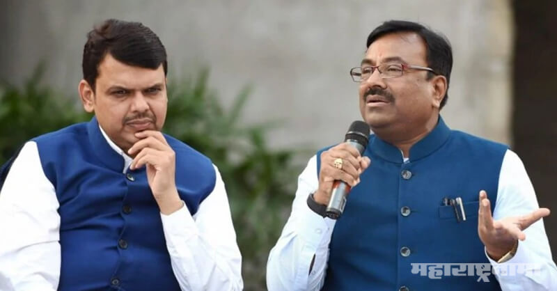 BJP Leader Sudhir Mungantiwar, Congress, NCP