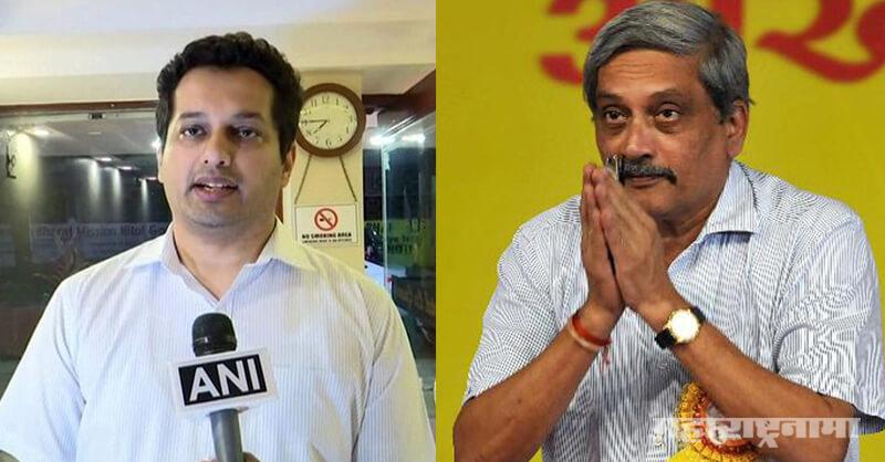 manohar parrikar, utpal parrikar, Amit Shah. Congress MLA, Goa BJP, Goa Congress, Goa CM Pramod Sawant