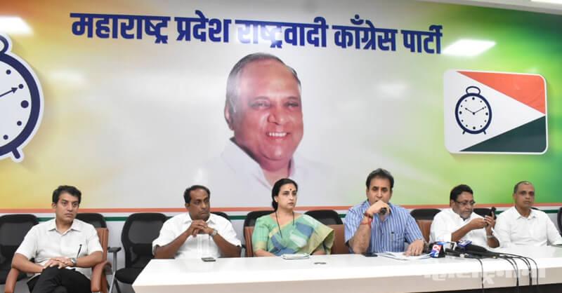 Devendra Fadanvis, Vinod Tawade, NCP, Dhananjay Mundey