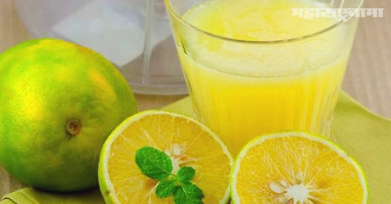 Mosambi fruit juice, beneficial, Good health