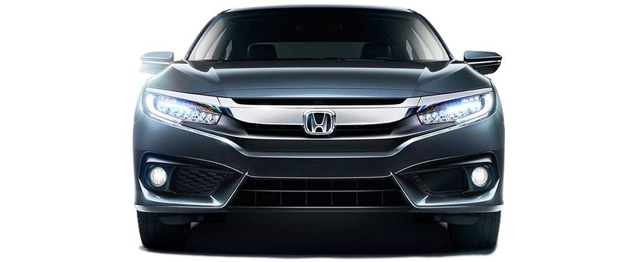 honda civic-front-view