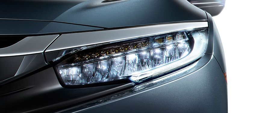 honda civic-headlight