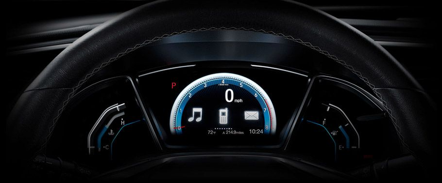 honda civic-instrument-cluster