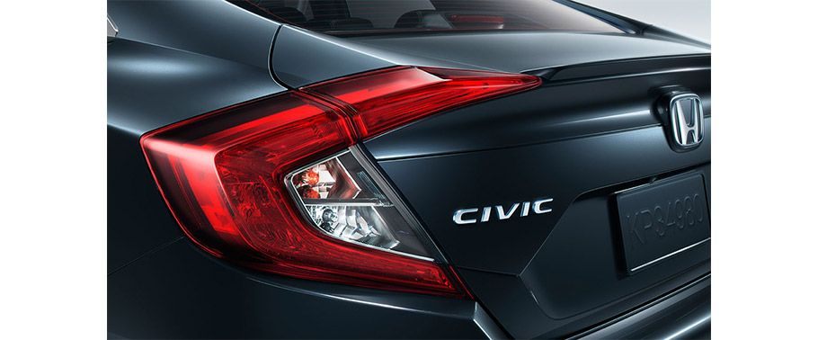 honda civic-taillight