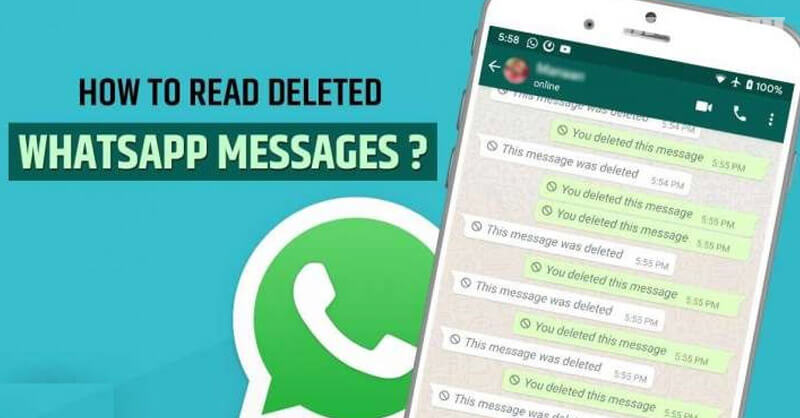 How to read, deleted, whatsapp messages, android