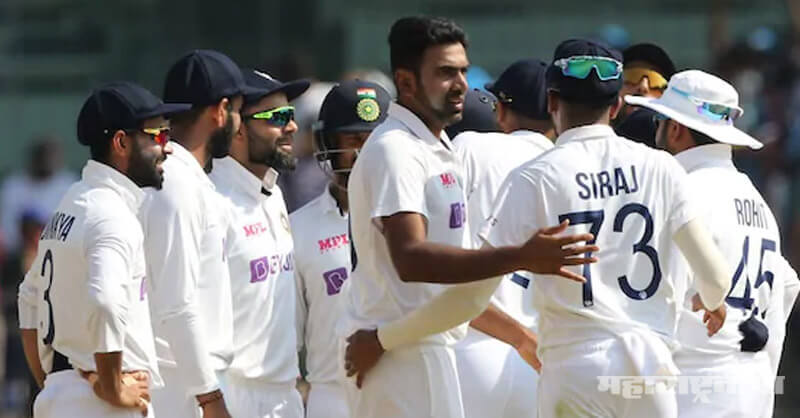 Team India,  beat England, Second Test Match