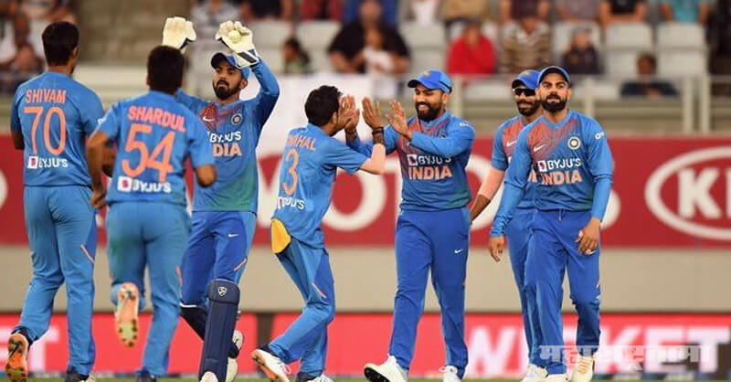 india Vs New Zealand first T20