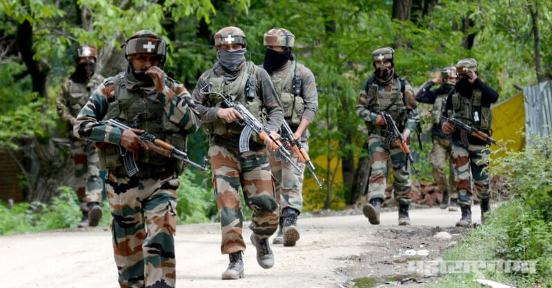 Three Jawans were killed, border in Keran, Kupwada district