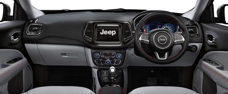 jeep compass--dashboard