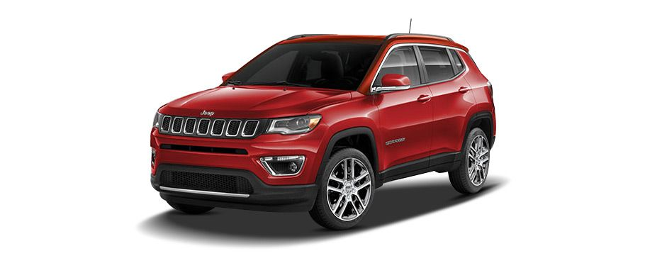 jeep compass--exotica-red
