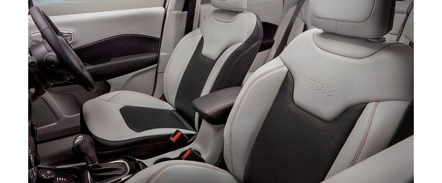 jeep compass--front-seats-passenger-view
