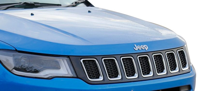 jeep compass--grille