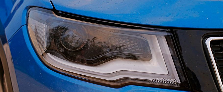 jeep compass--headlight