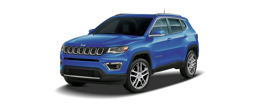 jeep compass--hydro-blue