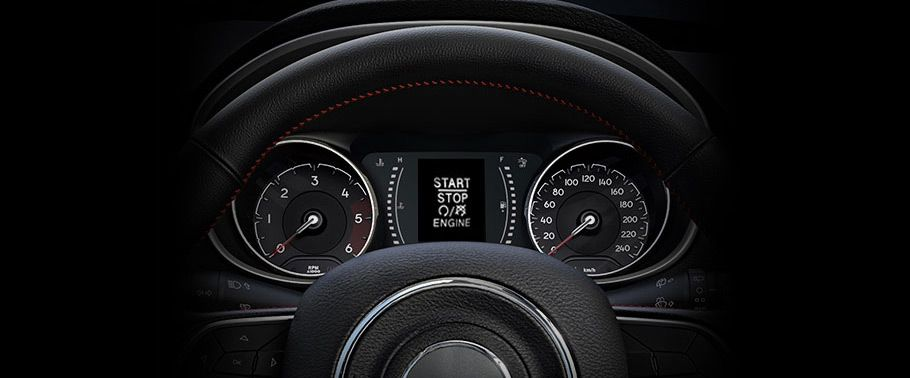 jeep compass--instrument-cluster