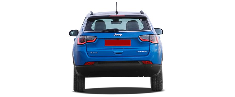 jeep compass--rear-view