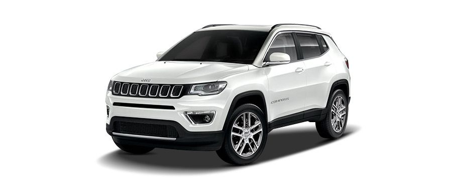 jeep compass--vocal-white