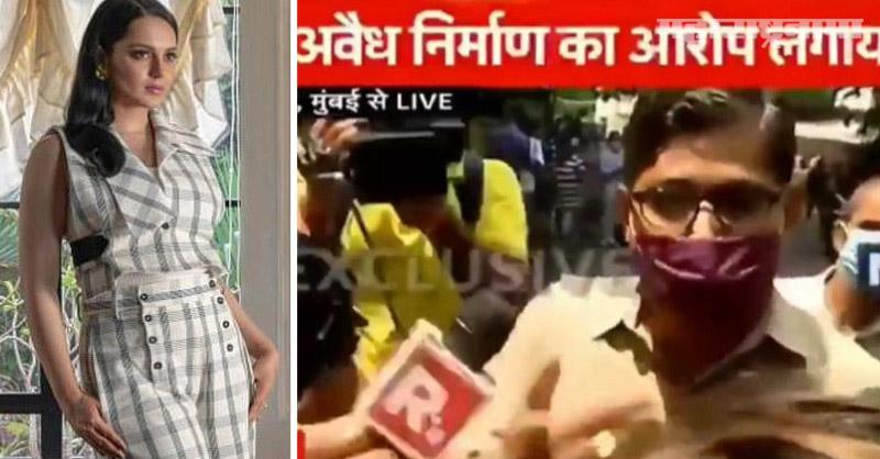 India Media, Postman, Kangana Ranaut, Marathi News ABP Maza