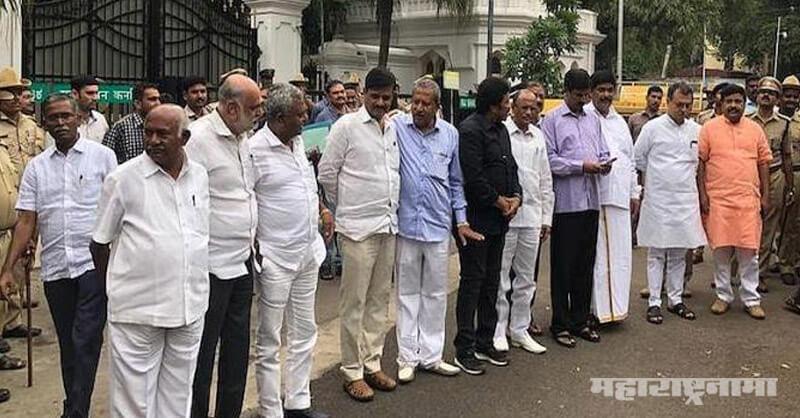 Karnataka, Kumarswamy, Karnataka Assembly, B. S. Yeddyurappa, Siddaramaiah, D. K. Shivakumar, D. V. Sadananda Gowda, Vajubhai Vala, Amit Shah, Narendra Modi, BJP