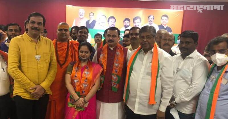 KDMC, MNS leader Mandar Halbe, Raj Thackeray, MLA Raju Patil