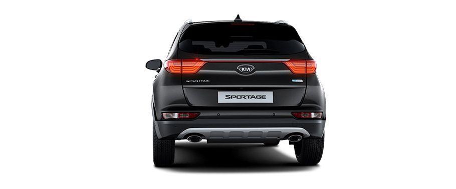 kia sportage-rear-view
