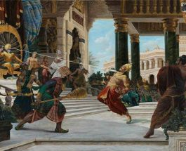 Giampaolo Tomassetti artist from italy beautifully paint Mahabharata