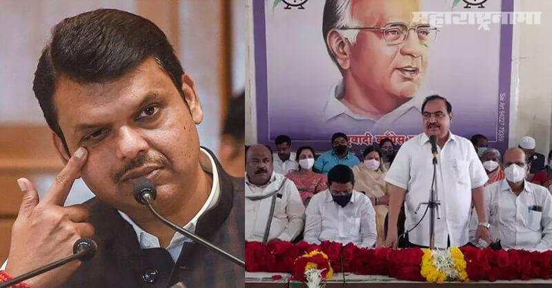 ED issues notice, NCP Leader Eknath Khadse