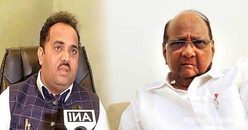 BJP MP Sanjay Kakade, NCP President Sharad Pawar, Mahavikas aghadi